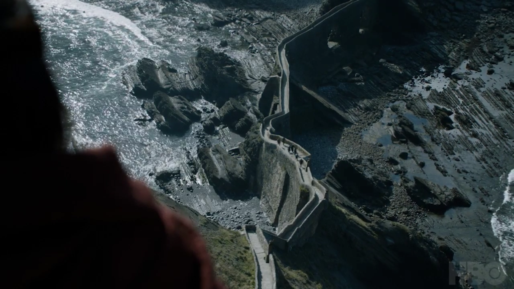 Melisandre at Dragonstone!