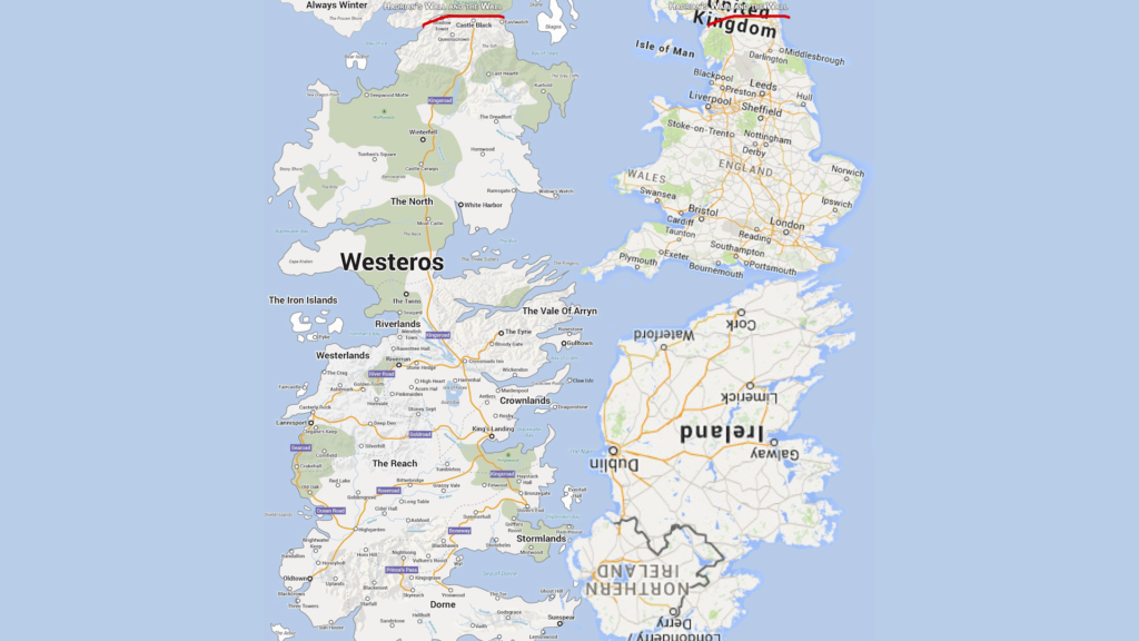 Westeros and the UK (collab with Daniele Bolelli)