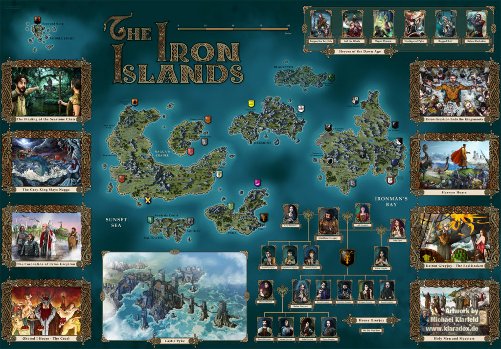 Iron Islands by Michael Klarfeld