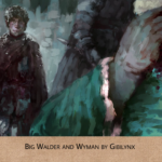 Big Walder and Wyman by GibiLynx