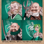 Wyman, Wylis, Wendel, and Wylla by hubsher