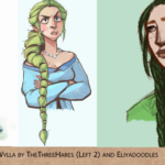 Wylla Manderly by thethreehares and eliyadoodles