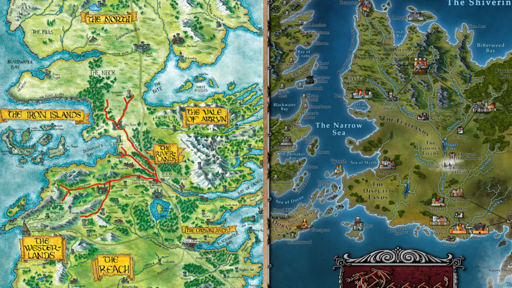 Map 3 - Rhoyne and the Trident