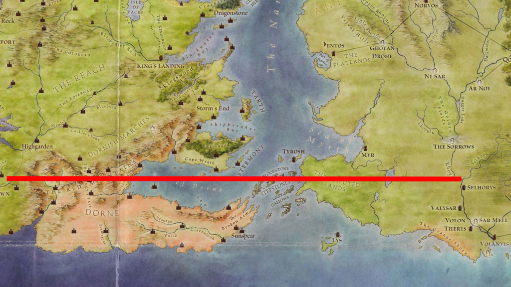 Map 4 - Selhoru to Westeros