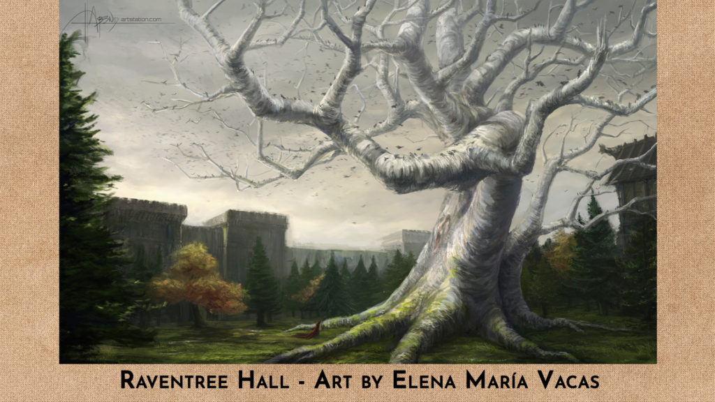 Raventree Hall by Elena Maria Vacas