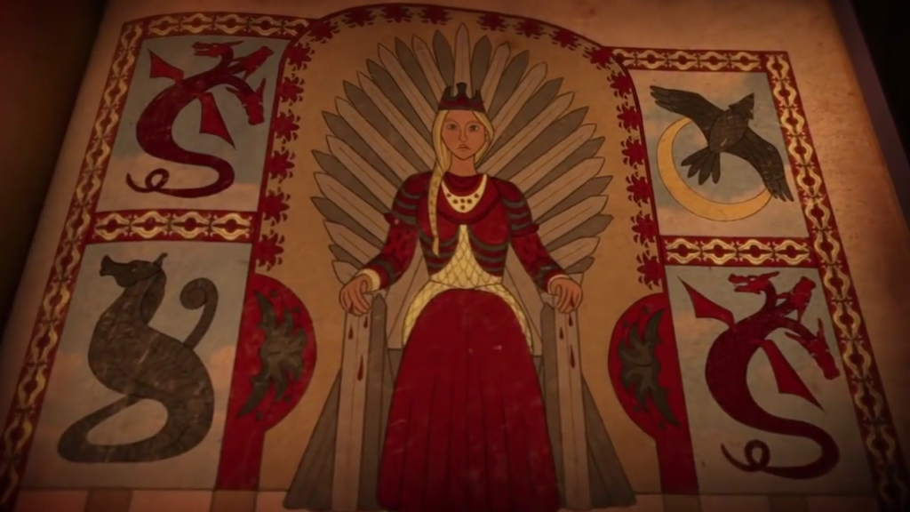 Dance of the Dragons - Rhaenyra on the Iron Throne (Histories and Lore)