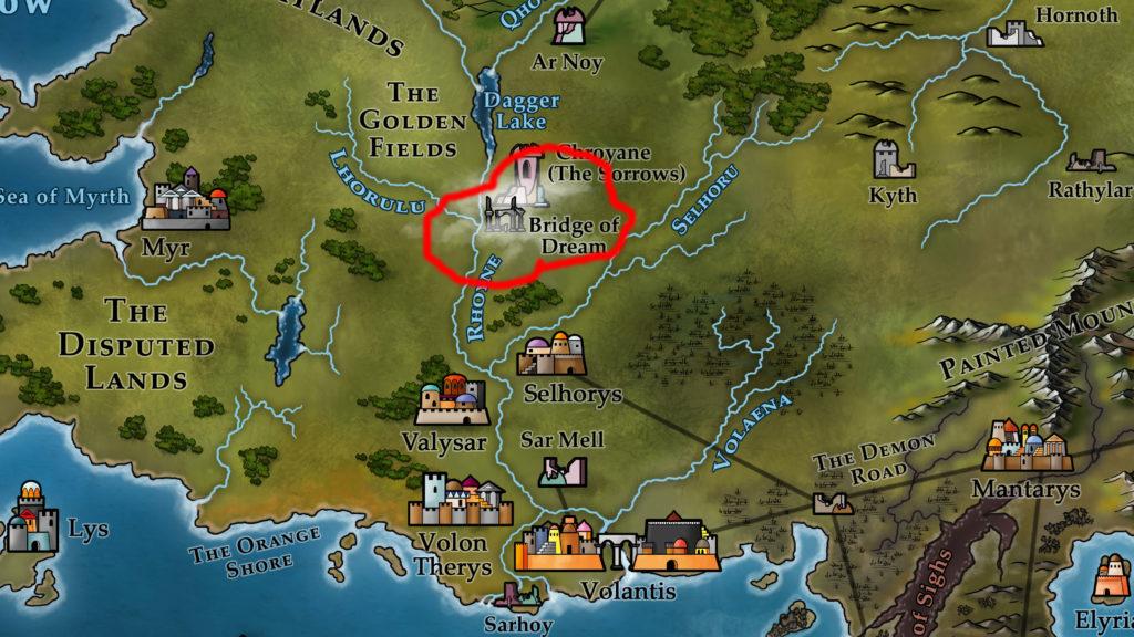 Map 11 - Bridge of Dream