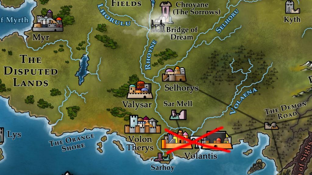 Map 13 - Volantis