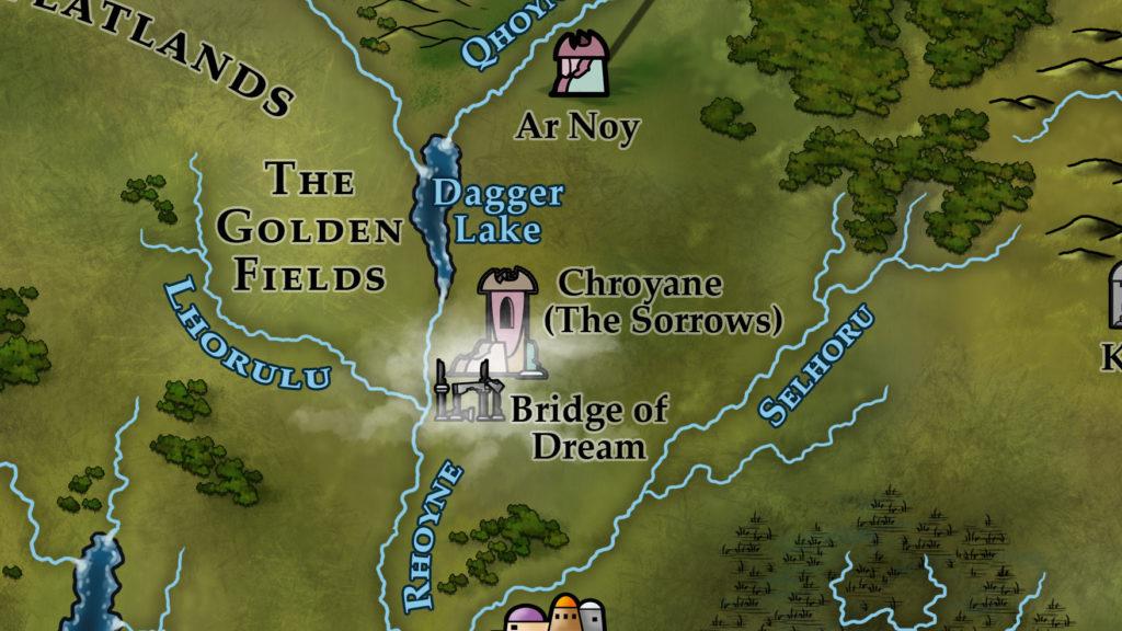 Map 16 - Chroyane