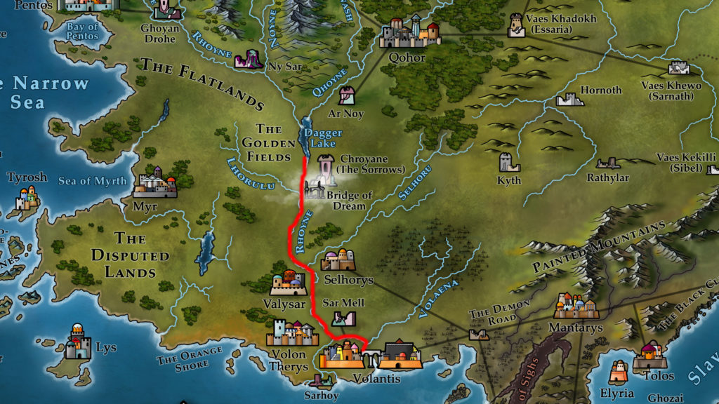 Map 7 - Volantis