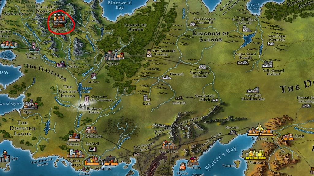 Map 8 - Norvos
