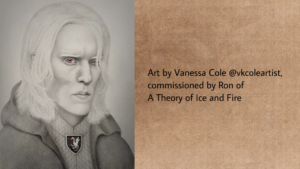 Bloodraven by Vanessa Cole @vkcoleartist, commissioned by Ron of A Theory of Ice and Fire