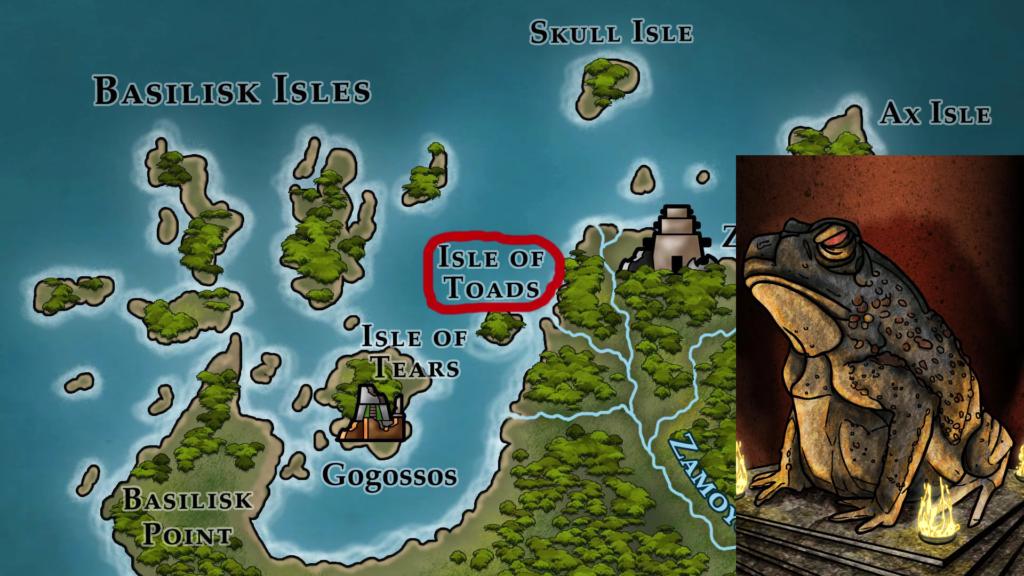 Isle of Toads & Toad Stone (Klaradox)
