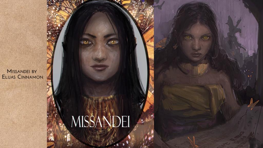 Missandei by Eluascinnamon