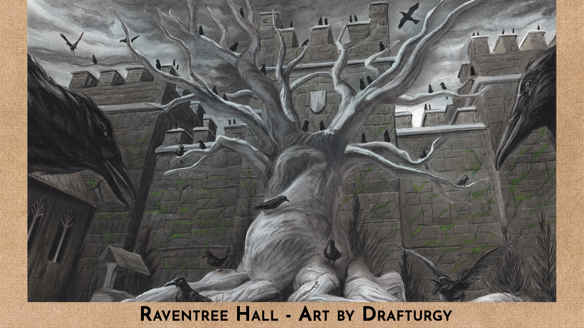 Raventree Hall by Drafturgy